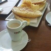 Photo taken at Doce Momento Padaria & Confeitaria by Fulvio F. on 5/3/2014