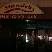 Photo taken at Mendy's Kosher Delicatessen by Paul B. on 6/9/2013