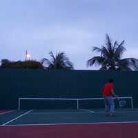 Photo taken at Court Tenis MPHTJ by Mohd M. on 1/21/2014