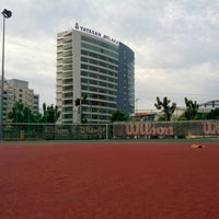 Photo taken at Court Tenis MPHTJ by Mohd M. on 8/13/2013