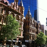 Photo taken at InterContinental Melbourne The Rialto by Chi Z. on 12/24/2012