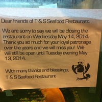 Photo taken at T&S Seafood by Kenny🐛 S. on 5/4/2014