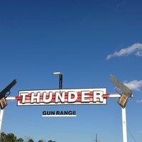 Photo taken at Thunder Gun Range by Carlos Z. on 1/18/2014