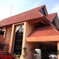 Photo taken at Pejabat Tanah Daerah Johor Bahru by Paul N. on 2/9/2014
