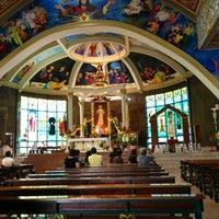 Photo taken at National Shrine of the Divine Mercy by Larry B. on 5/27/2013