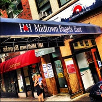Photo taken at H&H Midtown Bagels East by PHUDE-nyc on 6/30/2013
