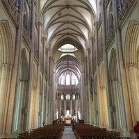 Photo taken at Cathédrale Notre-Dame de Coutances by Edwin P. on 7/29/2016