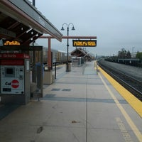 Photo taken at Santa Clara Caltrain Station by Allan C. on 2/18/2013