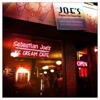 Photo taken at Sebastian Joe's Ice Cream Cafe by Rob L. on 4/28/2013