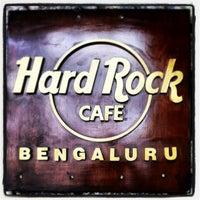 Photo taken at Hard Rock Cafe Bengaluru by Olga B. on 12/25/2012