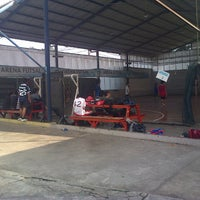 Photo taken at Arena Futsal by annissa mahar n. on 2/13/2014