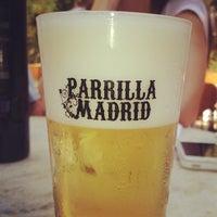Photo taken at Parrilla Madrid by Rodrigo F. on 9/16/2012
