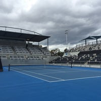 Photo taken at Hobart International Tennis Centre by SwINg P. on 10/6/2016