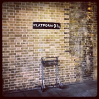 Photo taken at Platform 9¾ by Mark D. on 11/26/2012