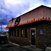 Photo taken at Lazybones Smokehouse by Christopher M. on 5/12/2013