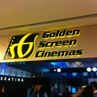 Photo taken at Golden Screen Cinemas (GSC) by Momo J. on 11/22/2012
