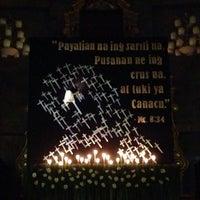 Photo taken at San Matias Parish Church by Bradz on 4/17/2014