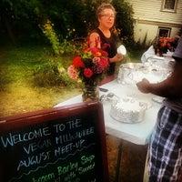 Photo taken at Riverwest Garderner's Market by Stefanie K. on 8/20/2013