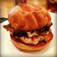 Photo taken at Umami Burger by Mitzi Y. on 12/10/2012