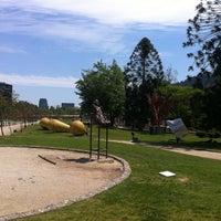 Photo taken at Parque de las Esculturas by Nicolás A. on 10/28/2012
