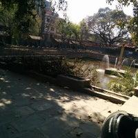 Photo taken at Nagpokhari by Aman N. on 3/8/2014