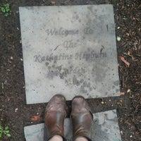 Photo taken at Katharine Hepburn Garden by Gabriela M. on 7/16/2016