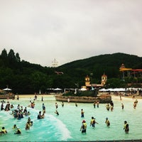 Photo taken at Caribbean Bay by jungmi p. on 5/27/2012