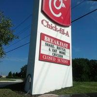Photo taken at Chick-fil-A by Seth E. on 10/6/2012