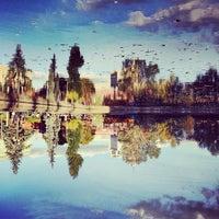 Photo taken at Gorky Park by Alex M. on 10/12/2013