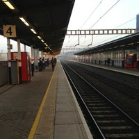 Photo taken at Luton Airport Parkway Railway Station (LTN) by Stephen B. on 3/5/2013