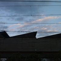 Photo taken at Matunga Railway Station by Kyle D. on 2/14/2014