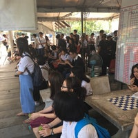 Photo taken at ท่ารถตู้มธ.รังสิต - อนุสาวรีย์ฯ/ฟิวเจอร์ฯ (TU-Future Park Rangsit/Victory Monument Van Stop) by Suprachoke S. on 10/14/2016