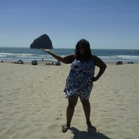 Photo taken at Pacific City, OR by Jennifer W. on 6/14/2013