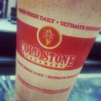 Photo taken at Cold Stone Creamery by Melissa L. on 10/3/2012