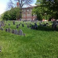 Photo taken at Copp's Hill Burying Ground by Darren W. on 5/13/2013