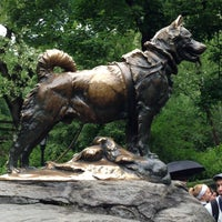 Photo taken at Balto Statue by Kathy S. on 5/25/2013