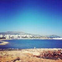 Photo taken at Παραλία Ραφήνας by Christos P. on 3/18/2014