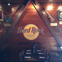 Photo taken at Hard Rock Cafe San Francisco by Dale H. on 1/8/2013