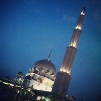 Photo taken at Masjid Putra by Shaun Y. on 2/1/2013