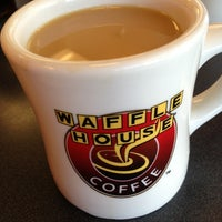 Photo taken at Waffle House by Kara W. on 2/21/2013