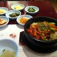 Photo taken at LA Yimone Korean Restaurant by Christopher E. on 9/28/2012