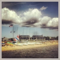 Photo taken at Westhampton Yacht Squadron by Michael D. on 8/8/2015