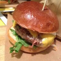 Photo taken at Ham Holy Burger by Sareh on 9/1/2015