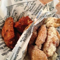 Photo taken at Wingstop by Melissa D. on 11/10/2012