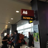 Photo taken at Gate A6 by Melissa D. on 11/4/2012