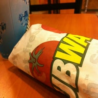 Photo taken at SUBWAY by Nurhafiza I. on 9/27/2012