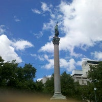 Photo taken at Plaza de Cagancha by Aline d. on 1/25/2013