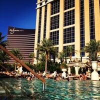 Photo taken at Palazzo Pool by Hank L. on 9/17/2012