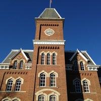 Photo taken at University Hall (UH) by Jon M. on 1/19/2013