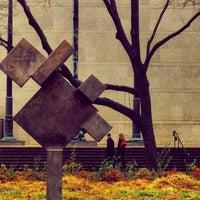 Photo taken at Sculpture Garden - Art Institute of Chicago by Arno M. on 11/16/2013